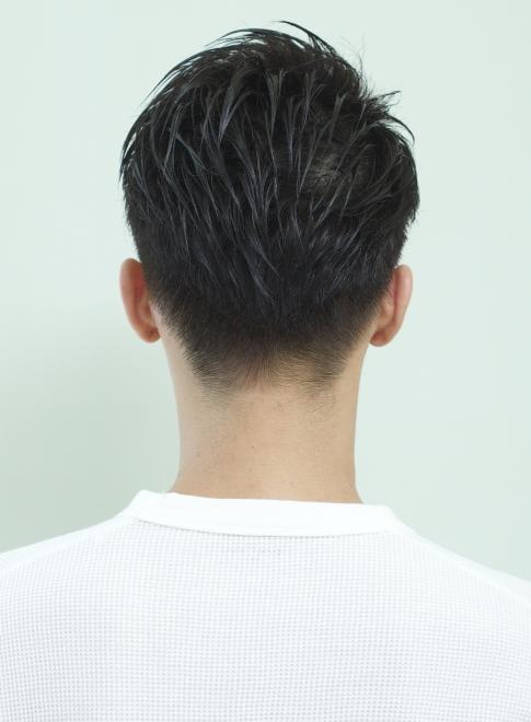 髪型 メンズ 短髪 ワックスなし